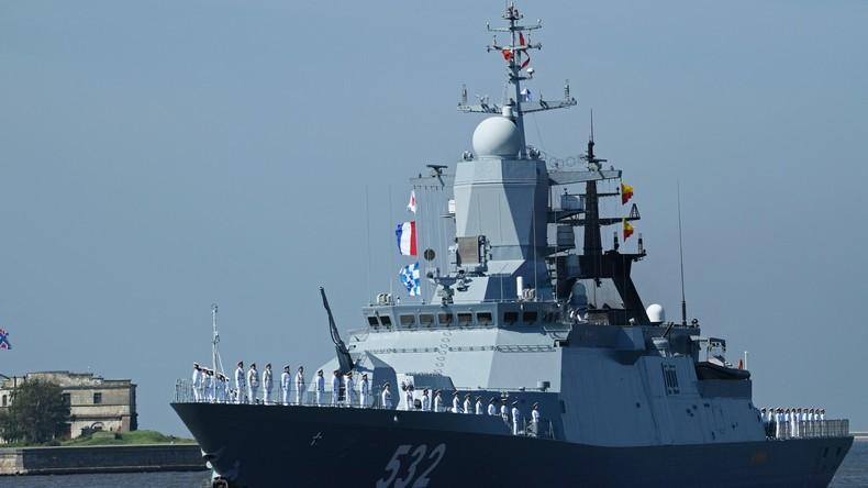 Zwei US-Lenkwaffen-Zerstörer in Ostsee von russischen Schiffen unter Beobachtung genommen
