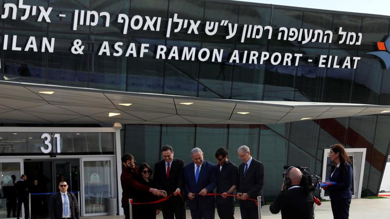 Israel eröffnet internationalen Flughafen nahe Eilat