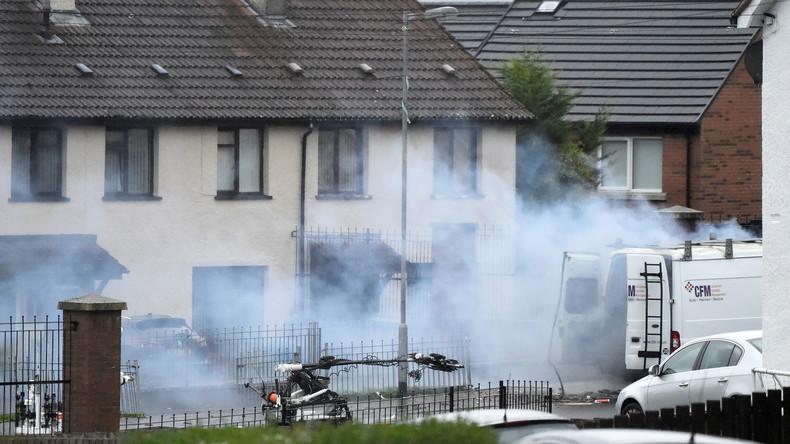 Nordirland: Vier Verdächtige nach Autobomben-Explosion freigelassen