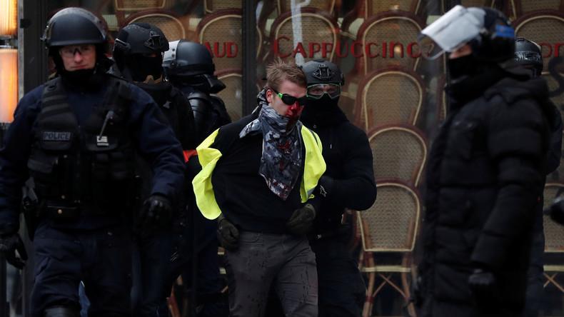 Zu Ehren der vielen Verletzten: Gelbwesten wollen sich auf Kundgebung als Verwundete verkleiden