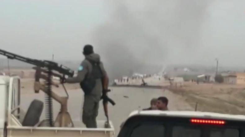 Syrien: Mehrere Tote nach Angriff auf US-kurdischen Konvoi