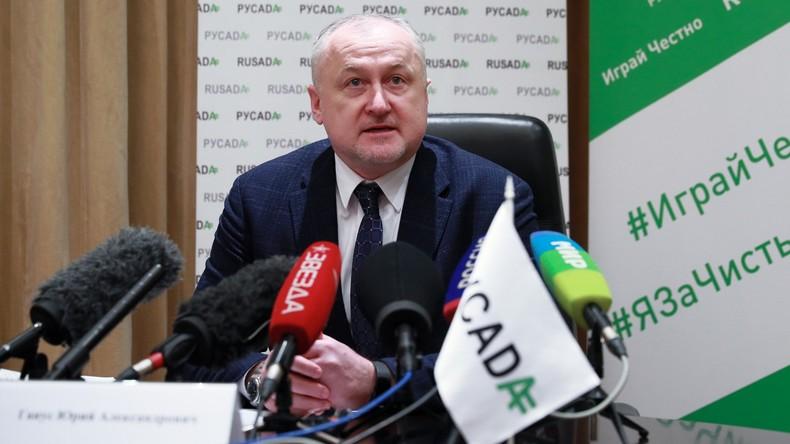 WADA verhängt keine neue Sperre gegen Russische Anti-Doping-Agentur RUSADA