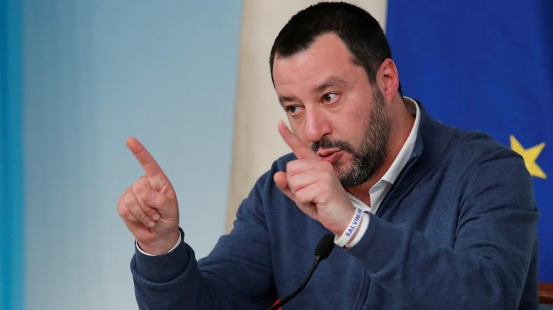 """Salvini beleidigt Macron: """"Ein schrecklicher Präsident"""""""