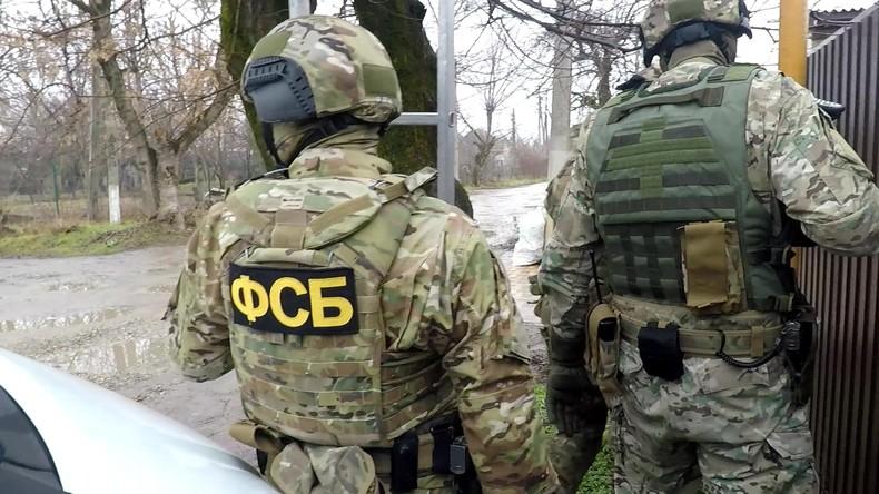 Krim: FSB geht gegen Mitglieder von ukrainischer illegaler Miliz vor