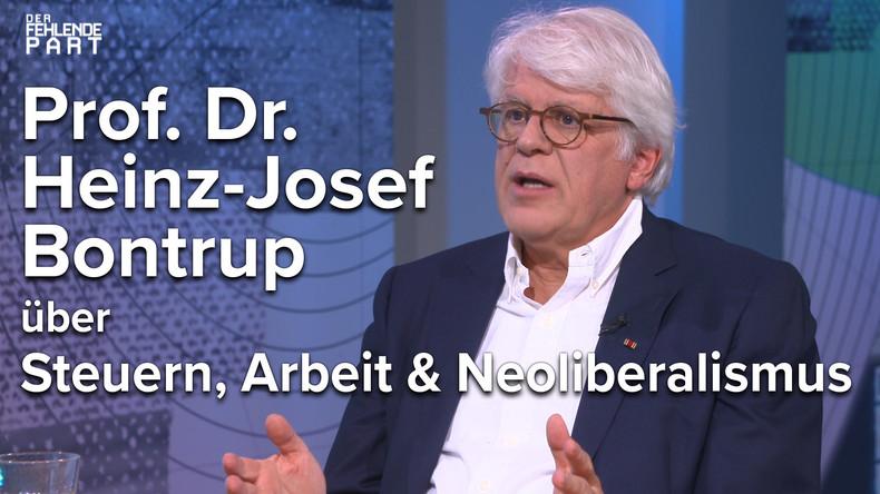 Der Markt regelt gar nichts – Prof. Heinz-Josef Bontrup im Gespräch