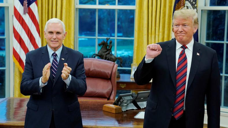 Venezuela: US-Vizepräsident Mike Pence unterstützt in aller Öffentlichkeit einen Putsch (Video)