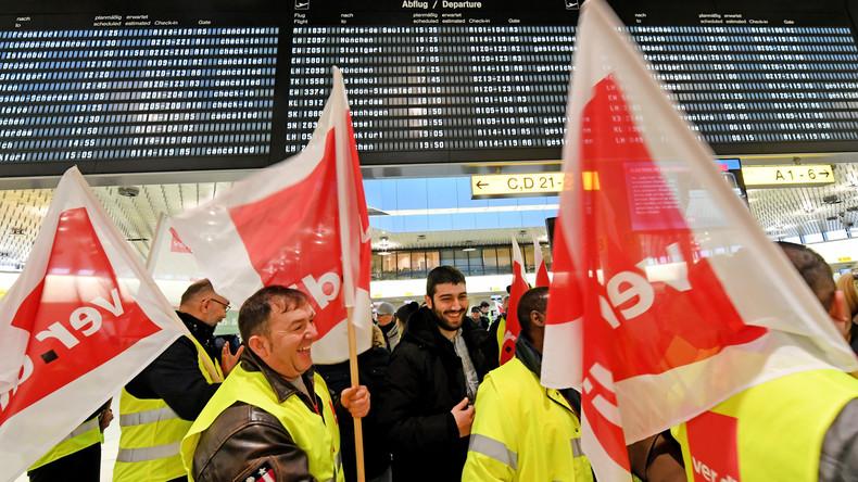 Tarifeinigung für Flughafen-Sicherheitsleute erzielt