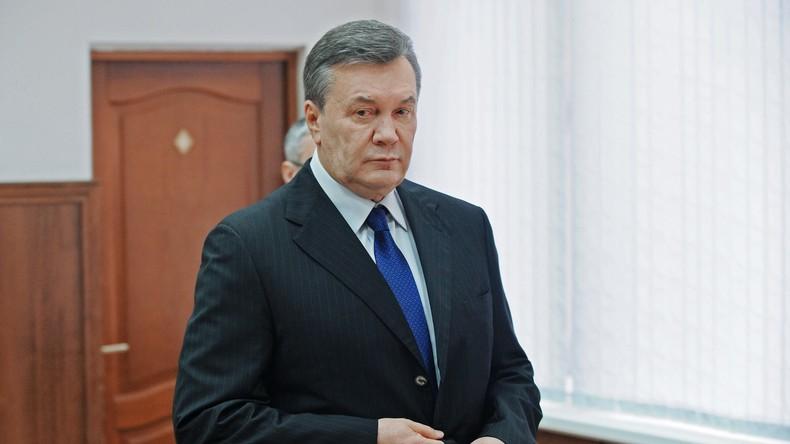 Ex-Präsident der Ukraine Wiktor Janukowytsch wegen Staatsverrat verurteilt