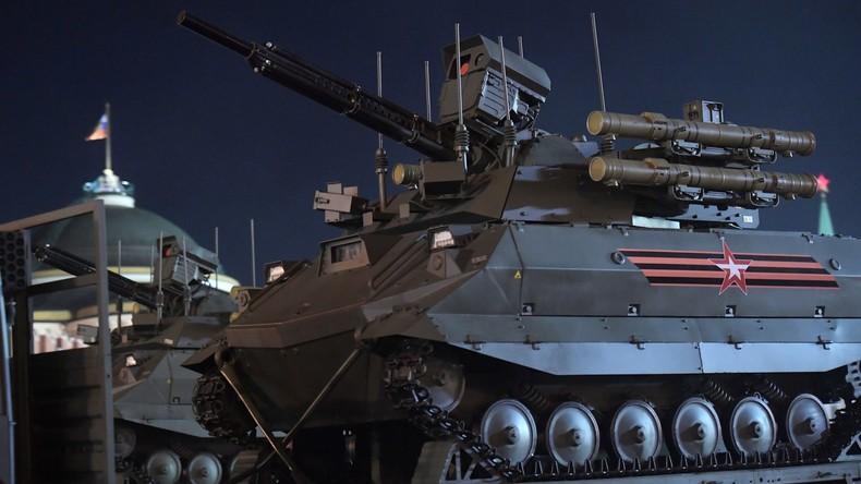 """Kalaschnikow-Konzern: Russlands Armee stellt Bodendrohne """"Uran-9"""" in Dienst, Pilotserie fast fertig"""