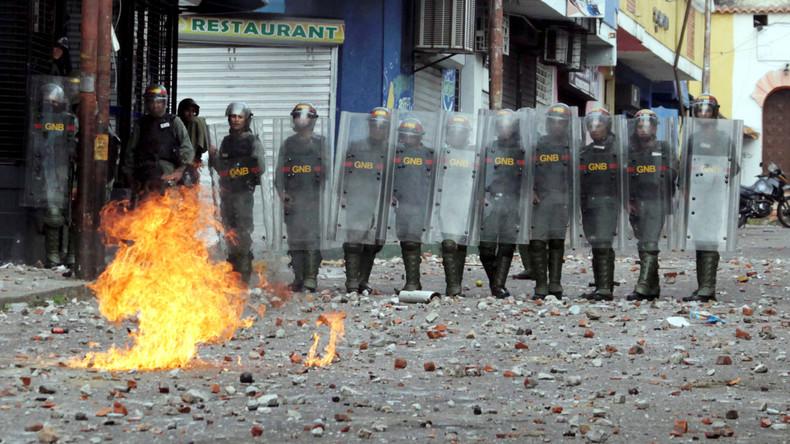 Putsch in Venezuela könnte Bürgerkrieg auslösen (Video)