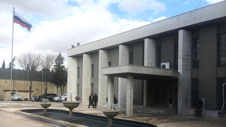 Explosion erschüttert Gegend um russische Botschaft in Damaskus