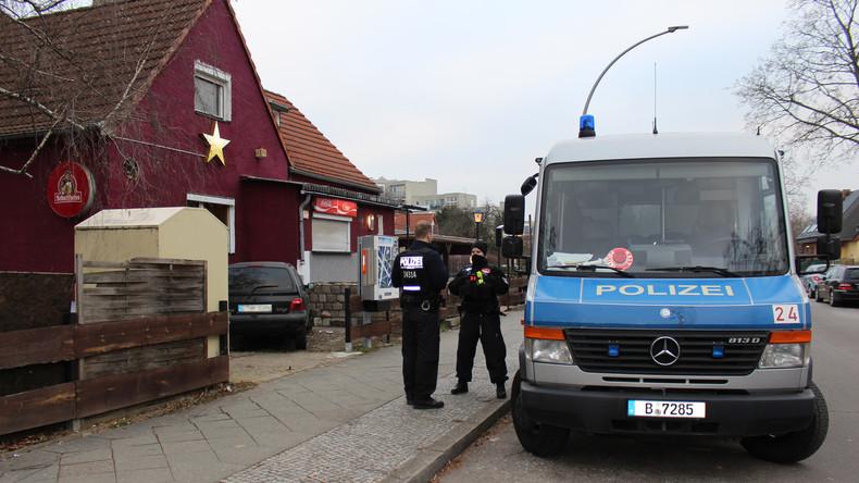 Großrazzia in Berlin: Polizei geht gegen Waffenschmuggler vor