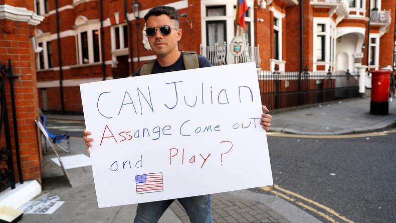 Wegen drohender Ausweisung in die USA: Anwälte von Assange reichen Klage ein