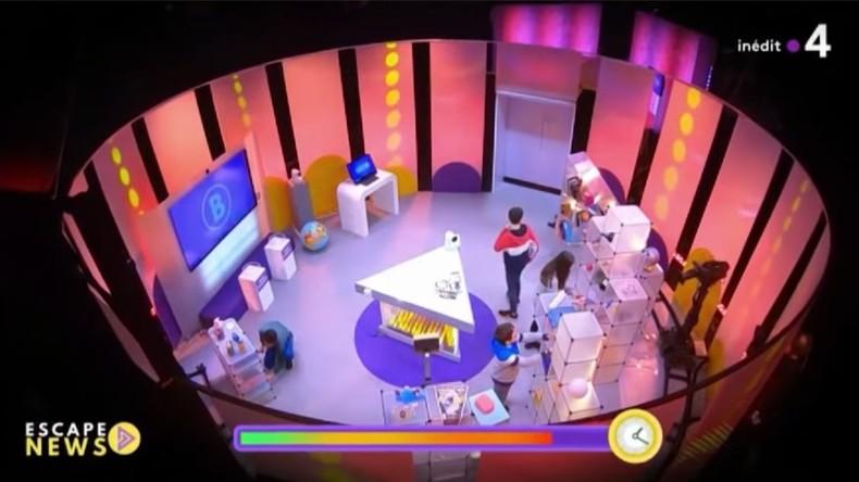 Propaganda-Gameshow für Kinder im französischen Staatssender France 4
