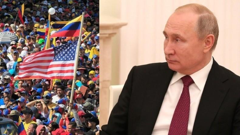 Putin: Äußere Einmischung in innere Angelegenheiten Venezuelas verletzt grob Völkerrecht