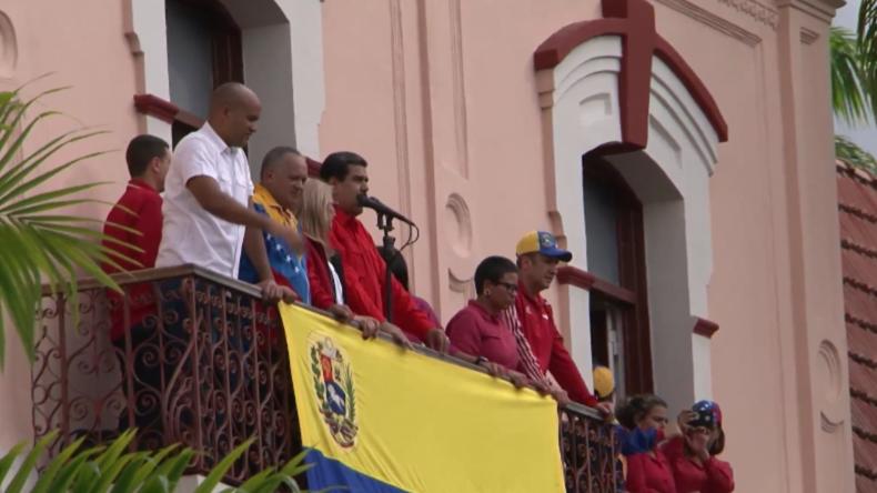 Venezuela: Tausende bei Kundgebungen in Caracas zur Unterstützung von Maduro