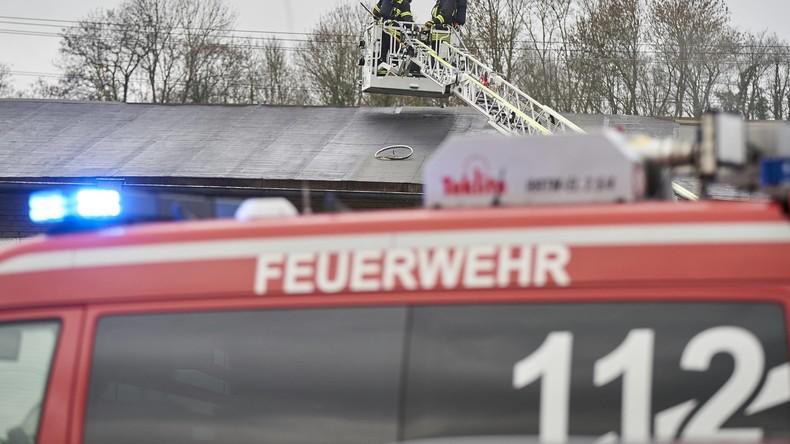 Drei Schwerverletzte bei Brand in Krankenhaus von Recklinghausen