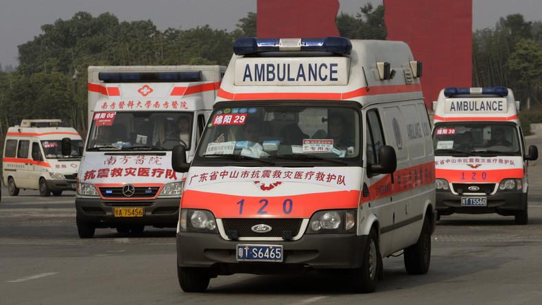 Explosionen in Einkaufszentrum in chinesischem Changchun - mehrere Verletzte (Video)