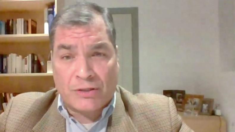 """Das ist ein """"beispielloser"""" Akt – Ex-ecuadorianischer Präsident Correa zu USA und Maduro-Opposition"""