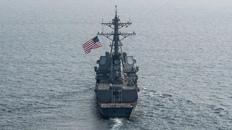 """Offener Bruch mit """"Ein China""""-Prinzip: US-Kriegsschiffe fahren durch Taiwan-Straße"""