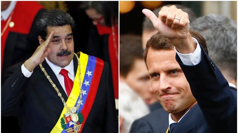 Heuchelei par excellence: Was für Maduro gilt, gilt für Macron noch lange nicht!