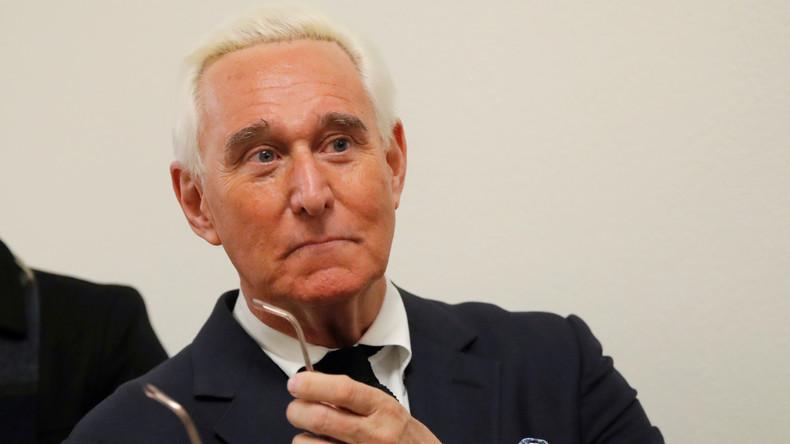Russland-Ermittlungen: Langjähriger Trump-Vertrauter Roger Stone festgenommen