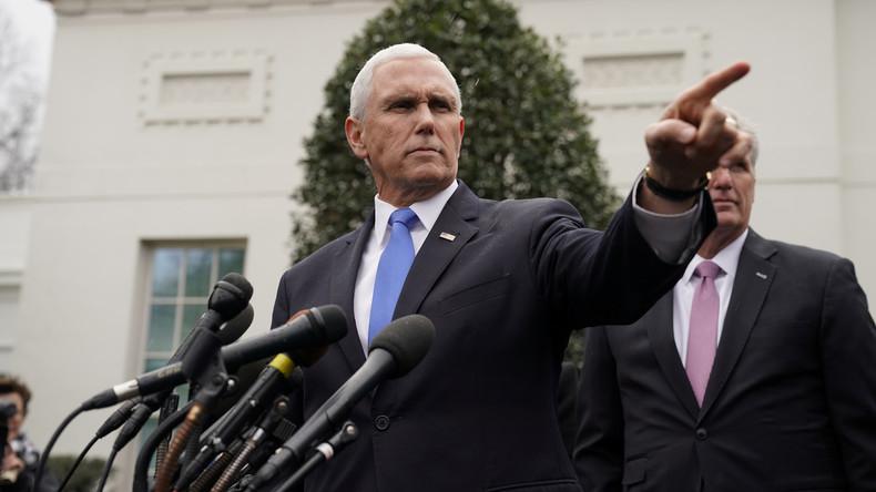 """""""Die USA stehen auf deiner Seite"""" – Wie Bolton und Pence den Venezuela-Putsch vorbereitet haben"""