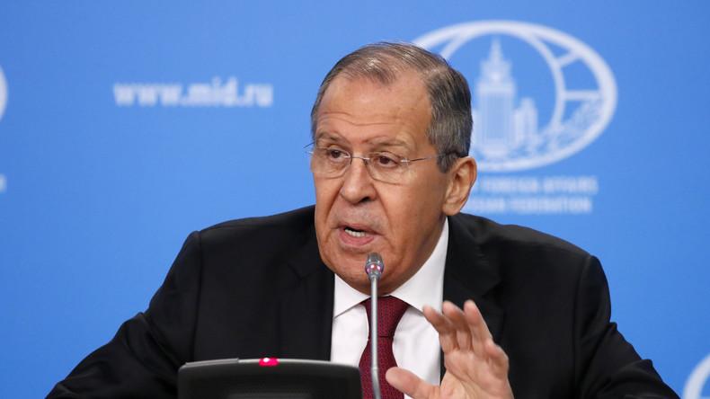 LIVE: Pressekonferenz von Sergej Lawrow und seinem marokkanischen Amtskollegen Nasser Bourita