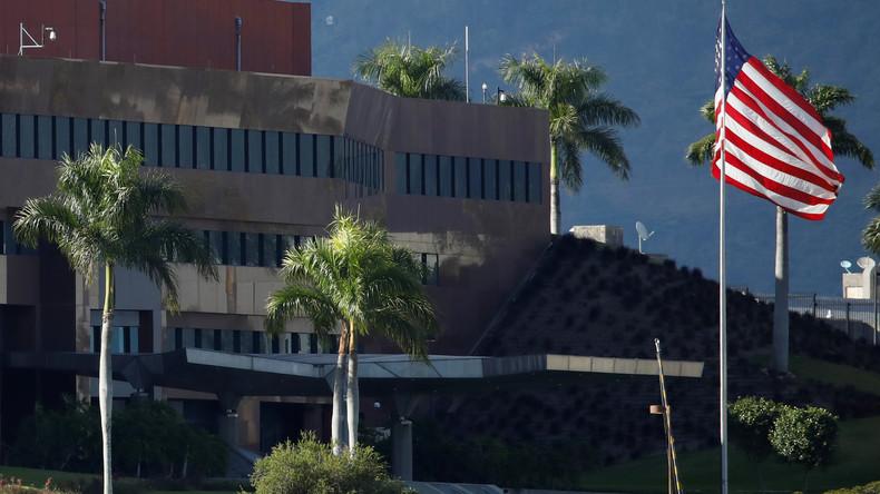 US-Botschaft fordert eigene Staatsbürger auf, Venezuela zu verlassen