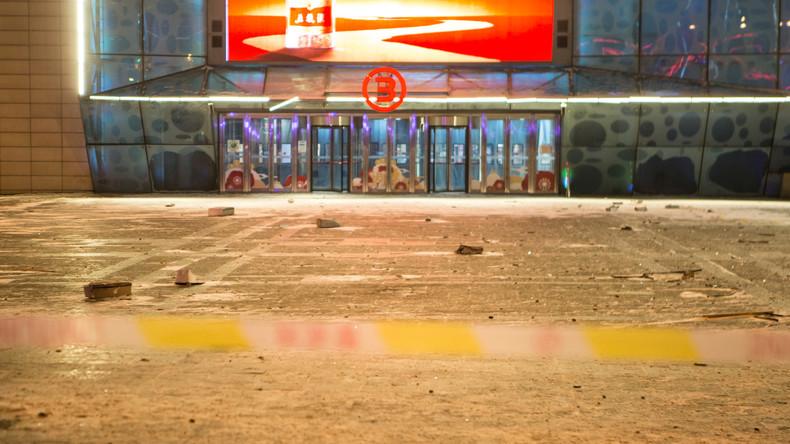 China: Nach Explosionen in Einkaufszentrum Verdächtiger identifiziert
