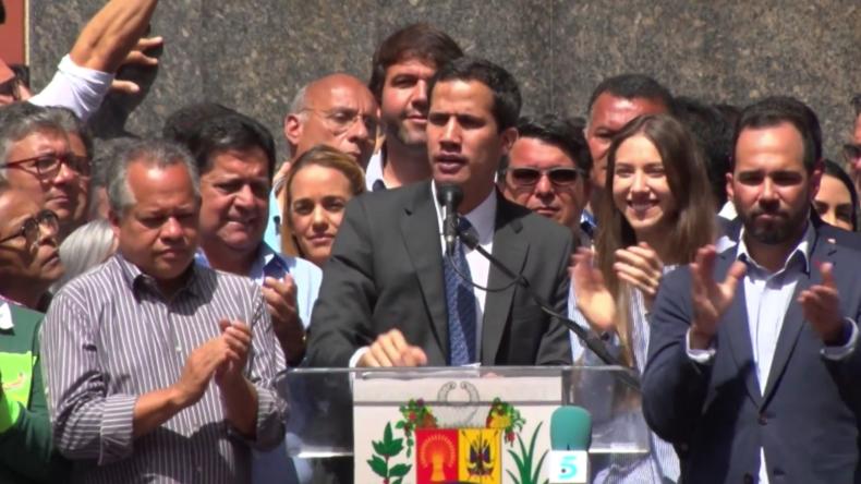 Venezuela: Guaidó fordert US-Diplomaten auf, im Land zu bleiben