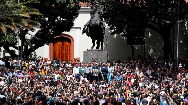 Putsch in Venezuela, Gelbwesten, EU-Vertrag: Ein Wochenrückblick auf den medialen Abgrund