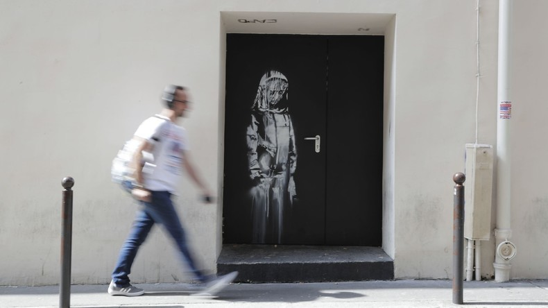 Banksy zugeschriebenes Werk in Paris aus Bataclan gestohlen
