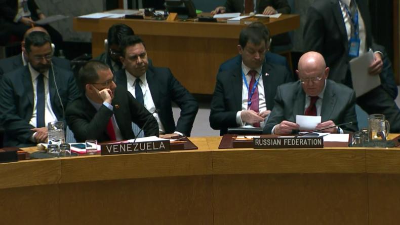 Schlagabtausch zwischen USA und Russland im UN Sicherheitsrat