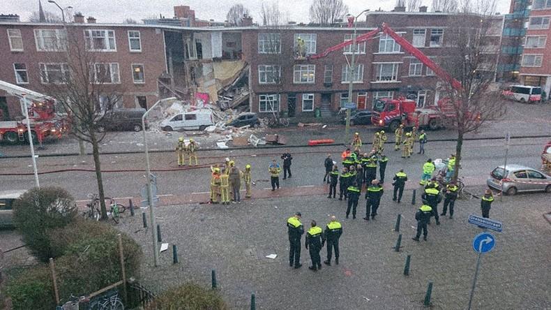 Neun Verletzte bei Gasexplosion in Wohnhaus in Den Haag