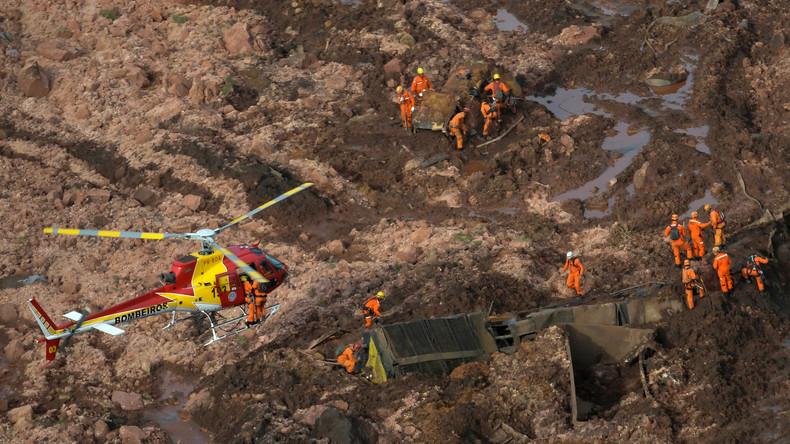 Zahl der Toten nach Dammbruch in Brasilien steigt auf 58 – 305 weiter vermisst