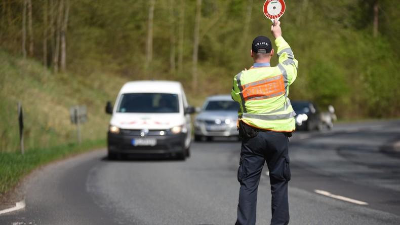 Polizeiaktion in Hessen: Dutzende betrunkene Lkw-Fahrer aus dem Verkehr gezogen