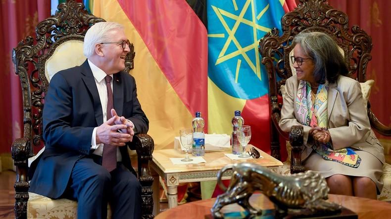 Steinmeier zu Staatsbesuch in Äthiopien begrüßt