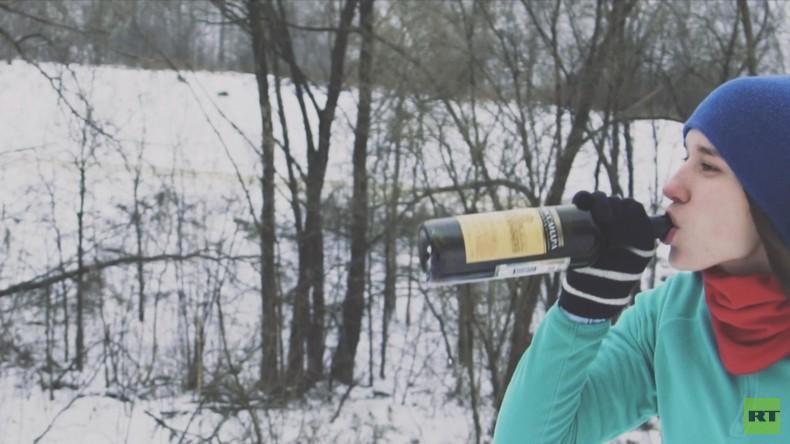 """Fitness mal anders: Der """"Laufclub Drunk Burgers"""" in Moskau"""