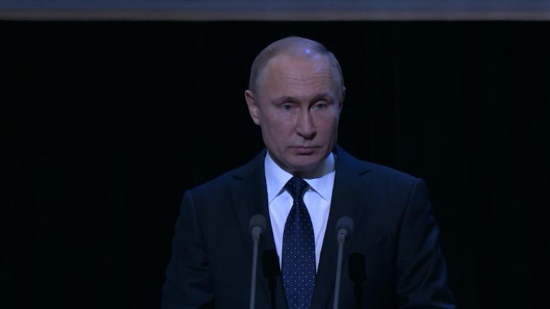 """Putin: Es ist unsere Pflicht, die """"heroische Wahrheit"""" über die Belagerung von Leningrad zu erzählen"""
