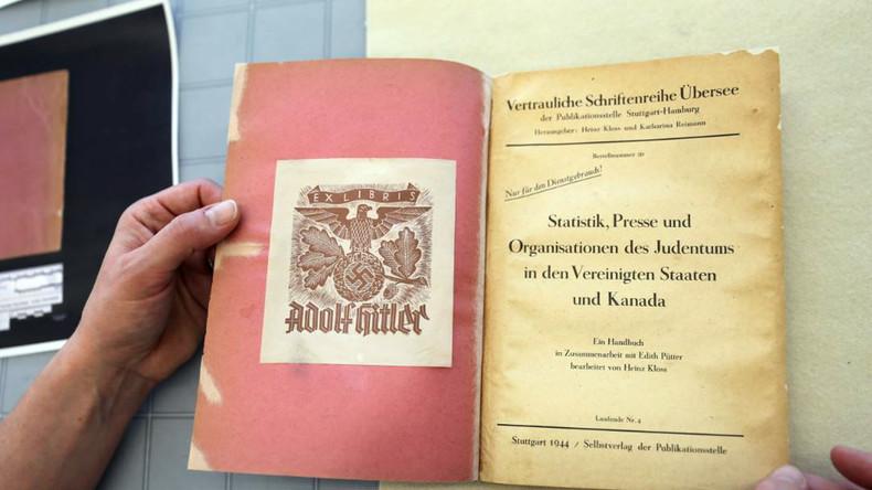 Der Holocaust in Nordamerika: Hitlers Buch aus kanadischem Archiv enthüllt seine Pläne im Siegesfall