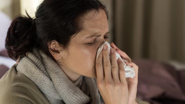 Sie haben einen Virus: Firma verkauft benutzte Taschentücher, damit man das Kranksein planen kann