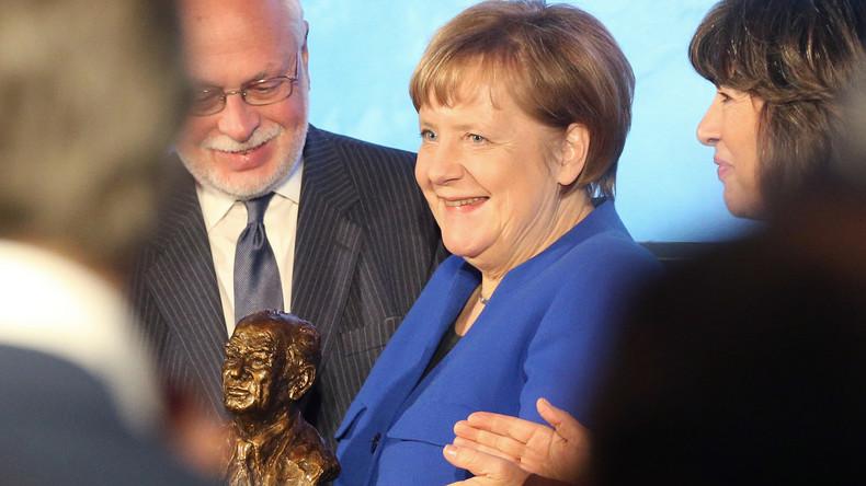 Angela Merkel mit Fulbright-Preis ausgezeichnet