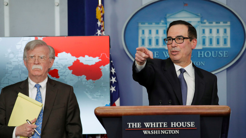 USA verhängen Sanktionen gegen venezolanisches Staatsunternehmen PdVSA