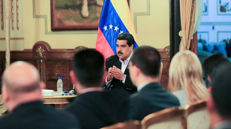 Nach Sanktionen durch Washington: Maduro droht USA mit Gegenmaßnahmen