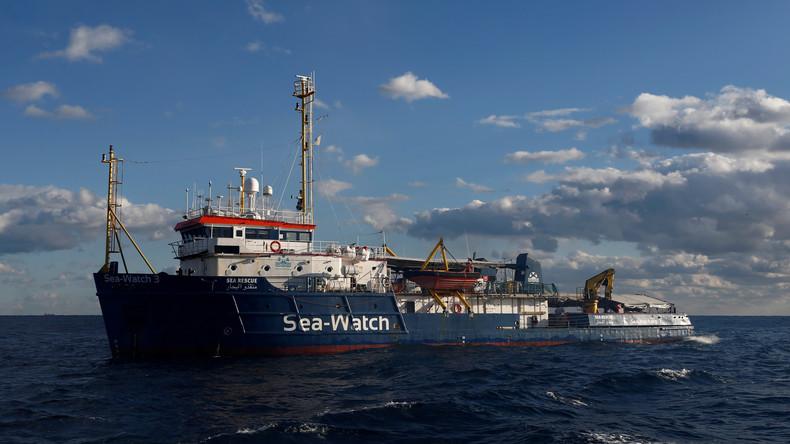 Blockiertes Rettungsschiff Sea-Watch schaltet Europäischen Gerichtshof für Menschenrechte ein
