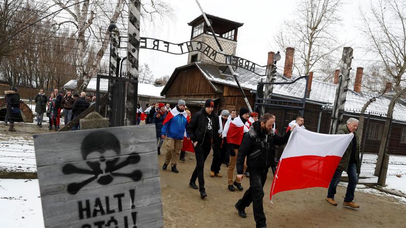 Auschwitz: Rechtsextreme forderten in Protesten die Befreiung Polens von den Juden - am Gedenktag