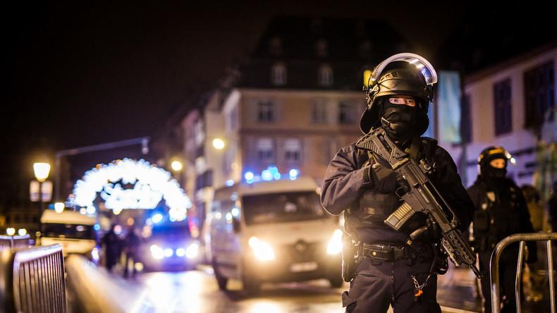 Fünf neue Festnahmen nach Straßburger Terroranschlag