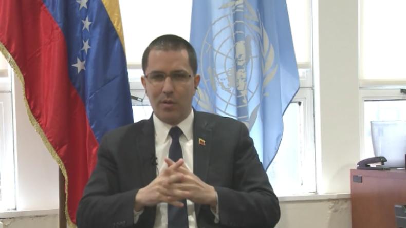 """Venezuelas Außenminister im RT-Interview: """"USA stützen Staatsstreich nicht nur - Sie führen ihn an!"""""""
