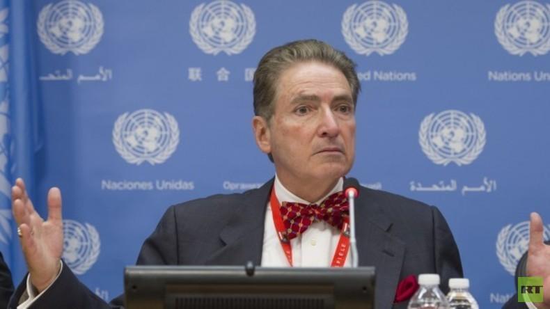 """Ex-UN-Sonderberichterstatter: """"Venezuela erinnert mich an die Irak-Invasion"""" (Video)"""